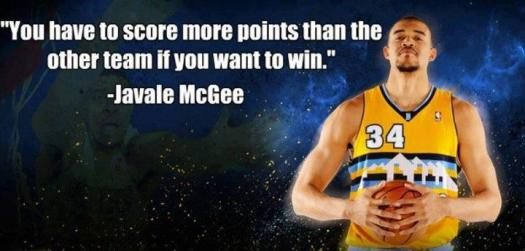 Javale McGee Keeps it Really Real